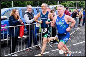 John beginning his 5k run. Image from Peter McKane.