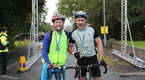 Stephen and Brian Complete Fermanagh Aventure Race