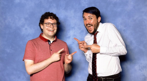 See! I really was at a convention... and I met Wil Wheaton!
